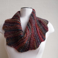 Colourwheel Cowl Used with permission. Copyright Susan Ashcroft