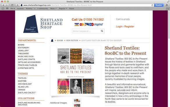 Shetland book