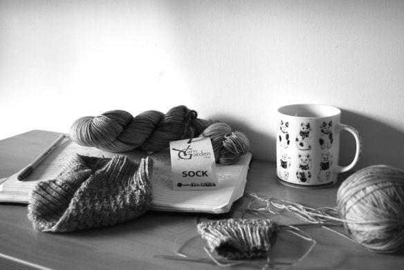 yarn garden_sock