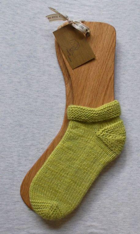 Sock blockers with Elgin socks!